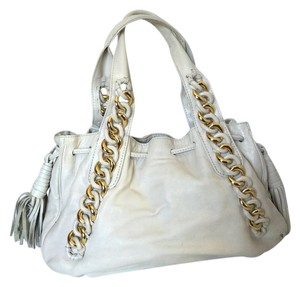 Michael Kors Satchel in Winter White