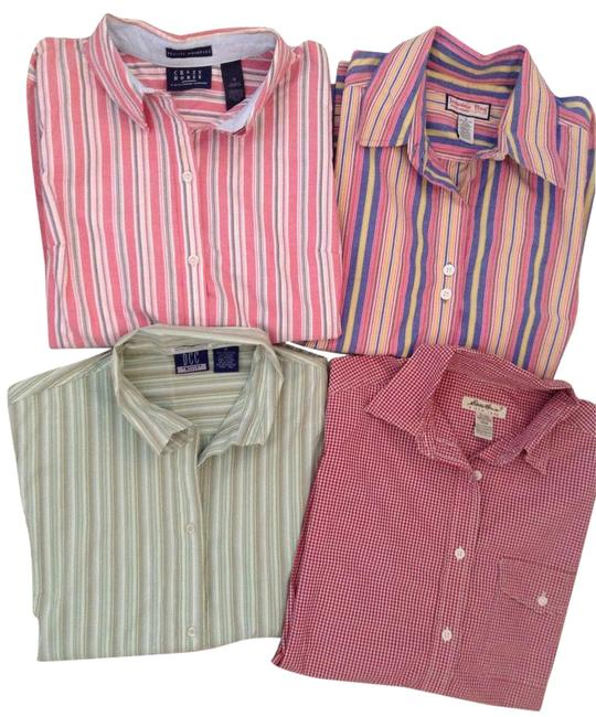 Preload https://img-static.tradesy.com/item/19263655/multicolor-4-for-1-special-long-sleeve-button-down-top-size-8-m-0-20-650-650.jpg