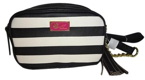 Betsey Johnson Dual Compartments Cross Body Bag
