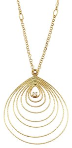 Roberto Coin Mauresque Diamond Tear 18k Gold Necklace