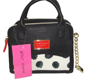 Betsey Johnson Mini Satchel Cross Body Bag