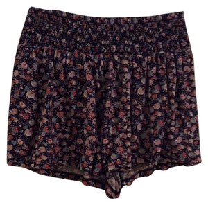 American Eagle Outfitters Stretchy Floral Flowy Mini/Short Shorts