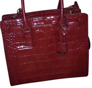 Michael Kors Collection Satchel in Red