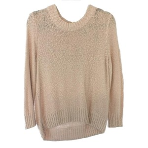 H&M Knit Mock Neck Zipper Sweater