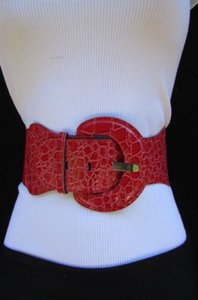 Other Women Elastic Low Hip High Waist Belt Gray Green Orange Pink Purple Red Mocha