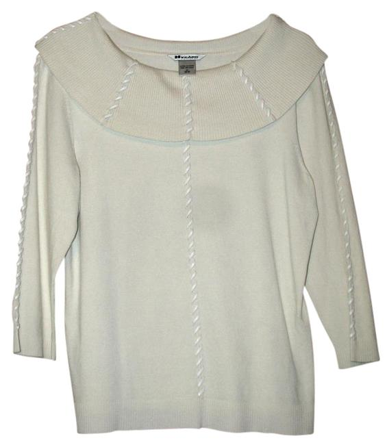 Preload https://img-static.tradesy.com/item/19265551/peter-nygard-collection-ivory-sweater-0-3-650-650.jpg