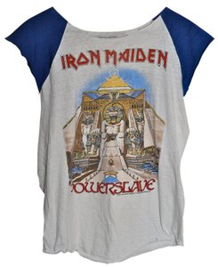 Genuine Vintage from 1984 Concert T T Shirt White