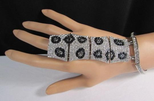 Other Women Leopard Bracelet Safari Hand Chains Silver or Gold