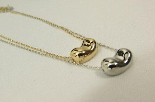 Other Women Mini Metal Double Balloon Heart Chains Necklace Gold Silver
