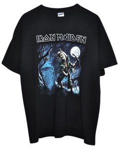 Genuine Vintage from 2006 Concert Concert Shirt Rock Iron Maiden T Shirt Black