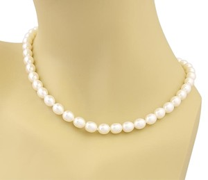 Tiffany & Co. 17238L - Tiffany & Co. 8mm Pearls Sterling Toggle Clasp Necklace