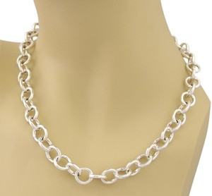 Tiffany & Co. 17423L - Tiffany & Co. Sterling All Clasping Link Necklace 18