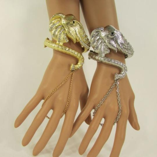 Preload https://item5.tradesy.com/images/women-big-elephant-cuff-hand-chain-slave-ring-silver-or-gold-bracelet-1926744-0-0.jpg?width=440&height=440