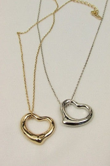 Other Women Mini Heart Chain Fashion Necklace Gold Silver Love
