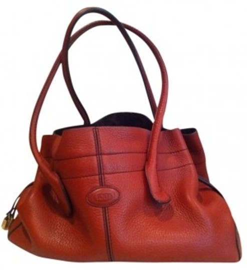 Preload https://item4.tradesy.com/images/tod-s-rust-pebbled-leather-tote-192678-0-0.jpg?width=440&height=440