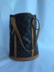 Louis Vuitton Bucket Gm Leather Shoulder Bag