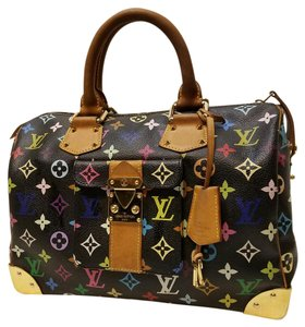Louis Vuitton Alma Limited Edition Satchel in Multicolor