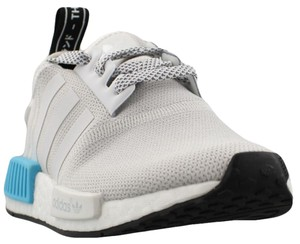 d0d1b5c8b adidas White Blue Nmd R1 J Limited Exclusive Rare Yeezy Boost Youth Sneakers