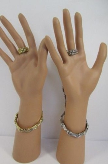 Other Women Skeleton Hand Chain Jewelry Slave Ring Gold or Silver