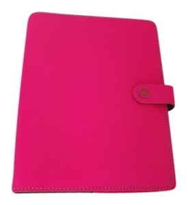 Filofax A5 Fluoro Pink Leather