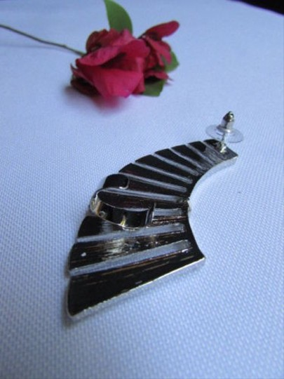 Other Women Silver Metal Angel Wing Ear Cuff Earring Chic Stylish