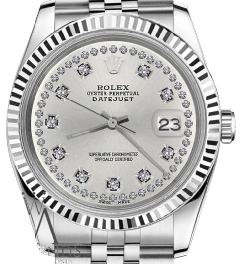 Preload https://img-static.tradesy.com/item/19270141/rolex-women-s-31mm-datejust-silver-color-string-diamond-accent-dial-watch-0-1-540-540.jpg