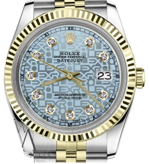 Preload https://img-static.tradesy.com/item/19270201/rolex-women-s-26mm-datejust2tone-ice-blue-color-dial-with-diamond-accent-watch-0-1-540-540.jpg