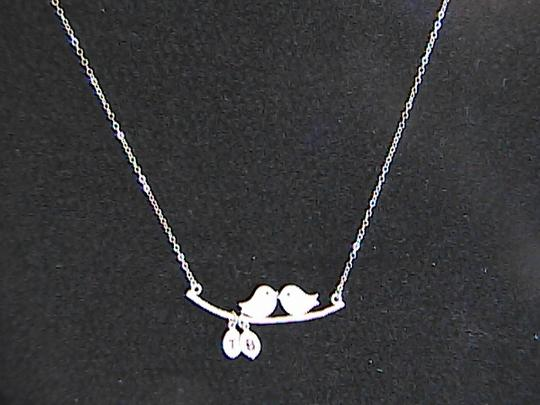 Other Love Bird Sterling Silver Necklace