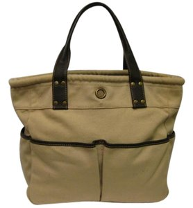 Levenger Tote in beige