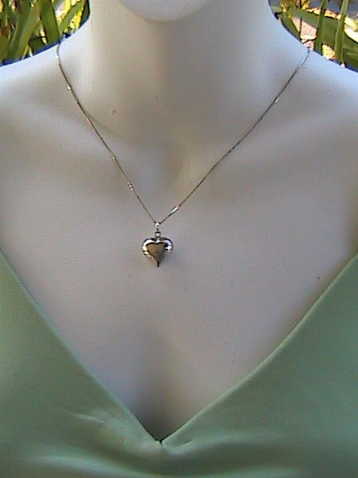 Other Italy Sterling Silver Heart Necklace