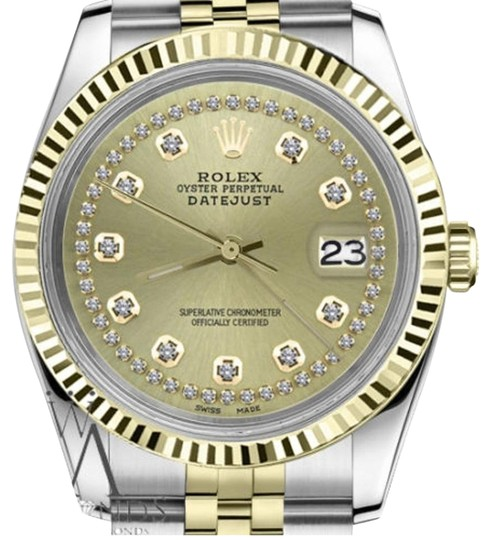 Preload https://img-static.tradesy.com/item/19271065/rolex-women-s-26mm-datejust-2tone-champagne-color-string-diamond-accent-dial-watch-0-1-540-540.jpg