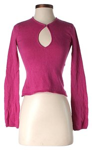 Laundry by Shelli Segal Silk Cashmere Keyhole Sweater