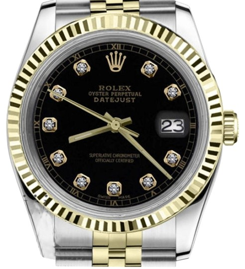 Preload https://img-static.tradesy.com/item/19271317/rolex-ladies-31mm-datejust2tone-black-color-dial-with-diamond-accent-watch-0-1-540-540.jpg