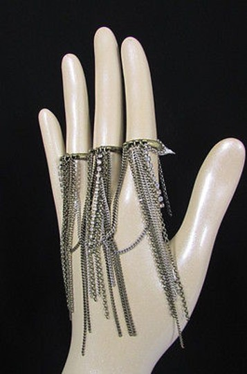 Other Women Antique Gold Silver Fringes Fashion Fingers Rings