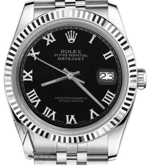 Preload https://img-static.tradesy.com/item/19272025/rolex-women-s-26mm-datejust-black-color-roman-numeral-dial-watch-0-1-540-540.jpg