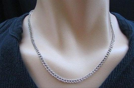 Other Men 18 Trendy Fashion Classic Basic Silver Chain Necklace