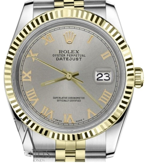 Preload https://img-static.tradesy.com/item/19272172/rolex-women-s-31mm-datejust2tone-slate-grey-roman-numeral-dial-watch-0-1-540-540.jpg