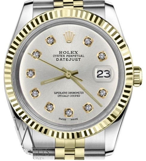 Preload https://img-static.tradesy.com/item/19272511/rolex-women-s-26mm-datejust2tone-silver-color-dial-10-round-diamond-accent-watch-0-1-540-540.jpg