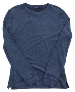 Theory Blue Long Sleeve Sweater