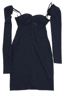 Alexander Wang short dress Black Off The Shoulder Bodycon on Tradesy
