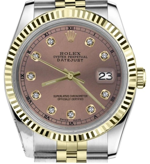 Preload https://img-static.tradesy.com/item/19272994/rolex-women-s-31mm-datejust2tone-salmon-color-dial-with-diamond-accent-rt-watch-0-1-540-540.jpg