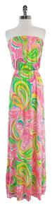 Maxi Dress by Lilly Pulitzer Pink Marlisa Strapless Maxi Maxi