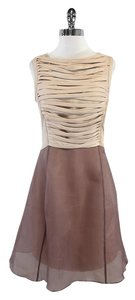 Reiss short dress Blush & Rose Chiffon on Tradesy