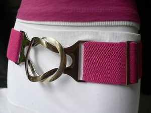 Other Women High Waist Stretch Pink Hip Belt Adjustable