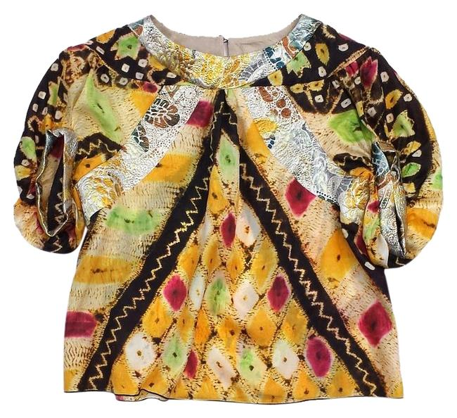 Preload https://img-static.tradesy.com/item/19274242/anna-sui-multicolor-abstract-print-silk-brocade-blouse-size-2-xs-0-1-650-650.jpg