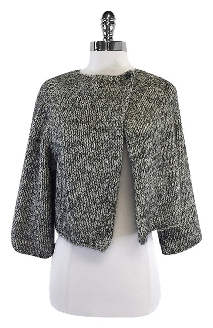 Preload https://img-static.tradesy.com/item/19274302/strenesse-grey-knit-wool-cropped-button-sweaterpullover-size-4-s-0-1-650-650.jpg