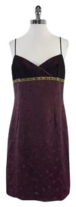 Laundry by Shelli Segal short dress Violet Spaghetti Strap on Tradesy