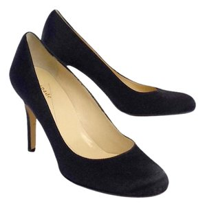 Kate Spade Black Satin Pumps