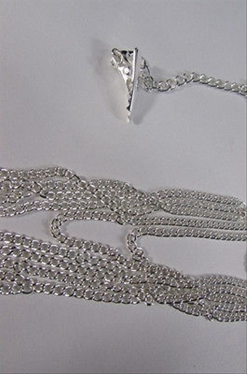 Other Women Thigh Silver Metal Extra Long Leg Chain Garter Fashion Body Jewelry