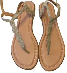 Xappeal Gold/tan Sandals